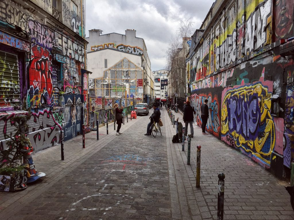 "La rue la plus ""street art"" de Paris"