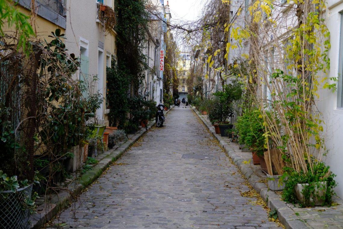 La rue des Thermopyles dans le 14 ème arrondissement