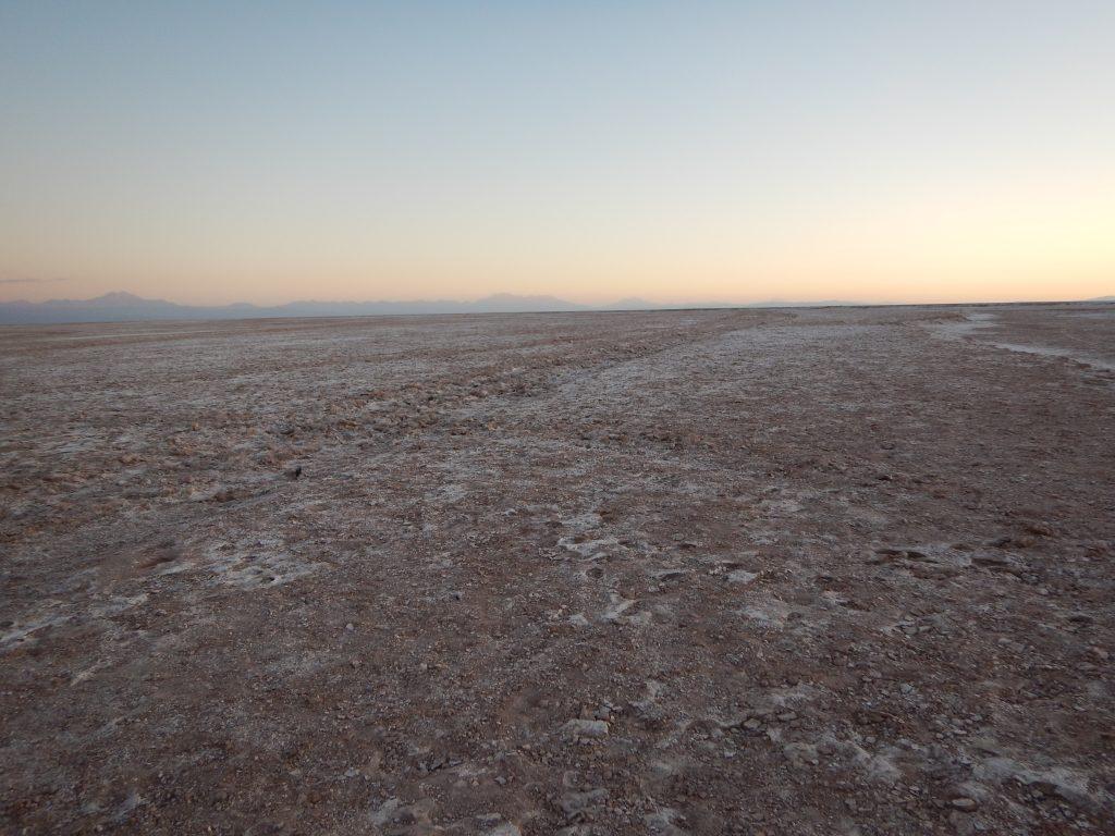 Le nord du désert d'Atacama au Chili