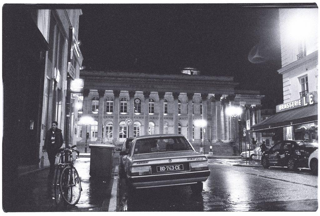 Le palais Brogniard de nuit
