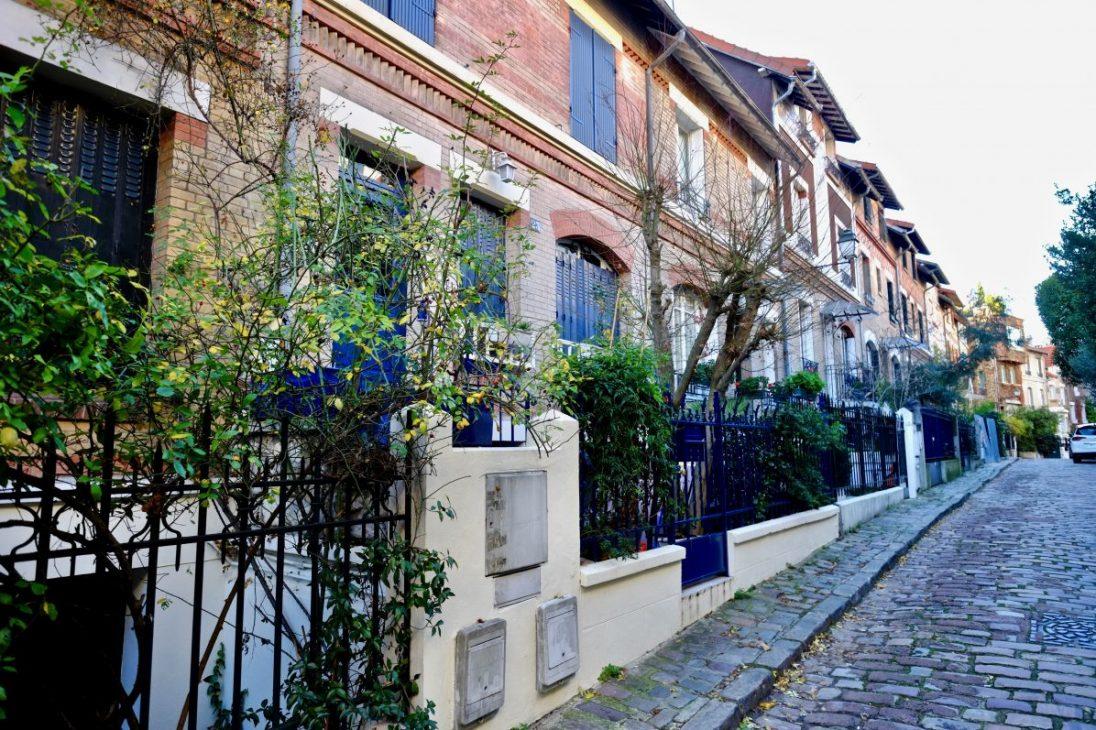 Square Monstouris, une voie privée à Paris
