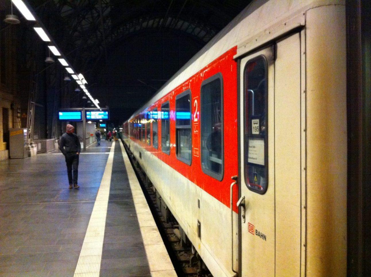 DB, les wagons typique de l'Allemagne