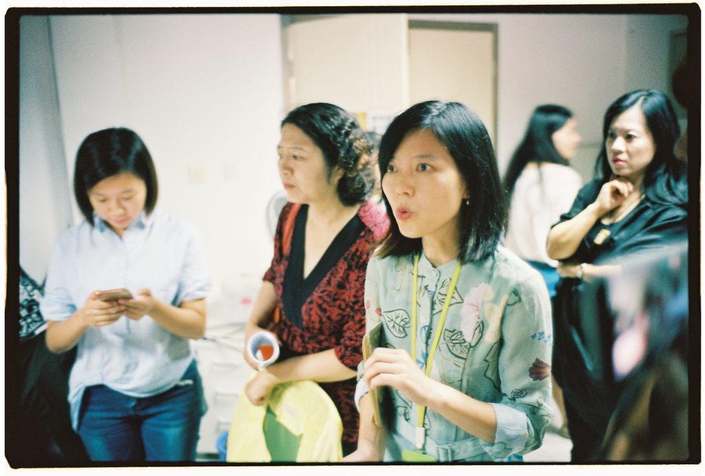Visite d'une entreprise chinoise spécialisée dans le web