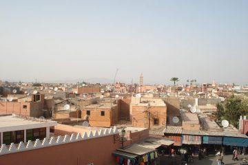 Vue sur les toits de Marrakech