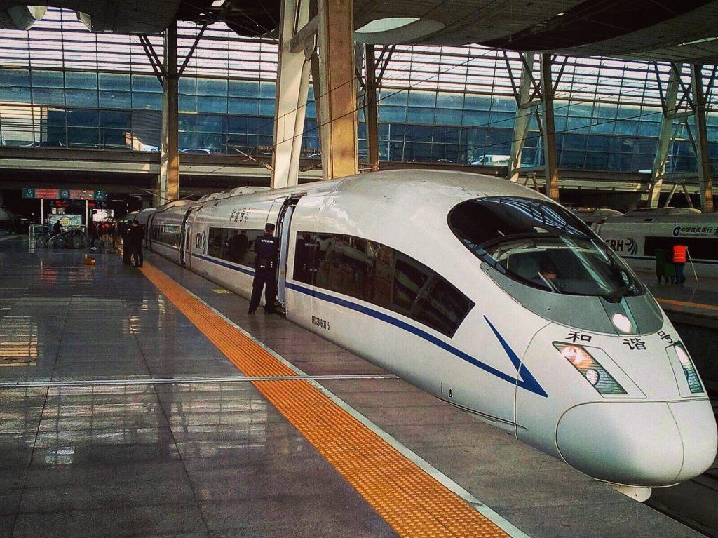 Le TGV chinois, le train des records