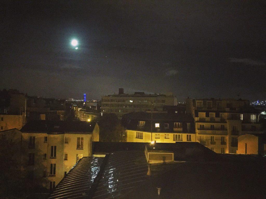 """Vue sur Paris depuis """"Gambetta"""""""