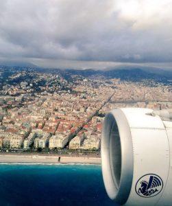 Arrivée magique à l'aéroport de Nice