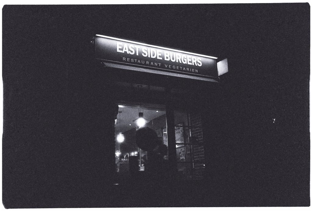 East Side Burgers, restaurant végétarien