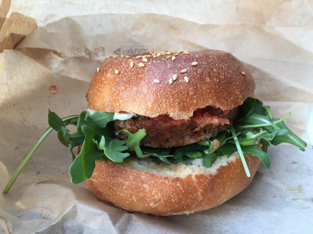 Burger Forestier chez l'un des meilleurs burgers de Paris