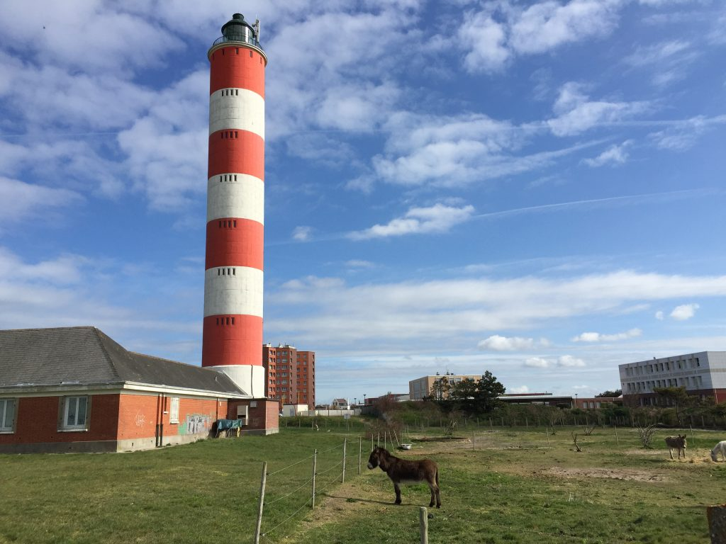 Le phare de Berck l'un des plus grands phares de France