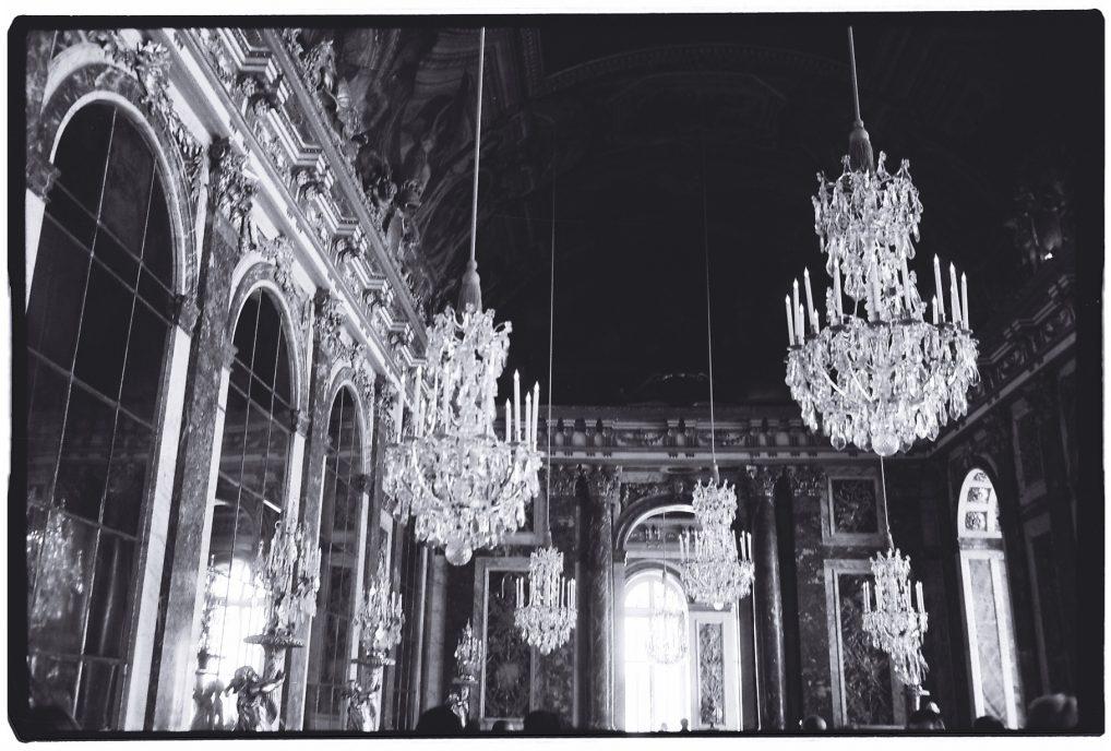 La galeries des Glaces au château de Versailles