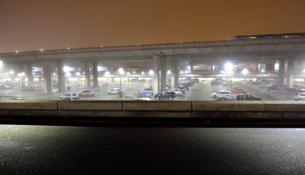 Le Parking de l'aérogare 2A de l'aéroport de Roissy CDG