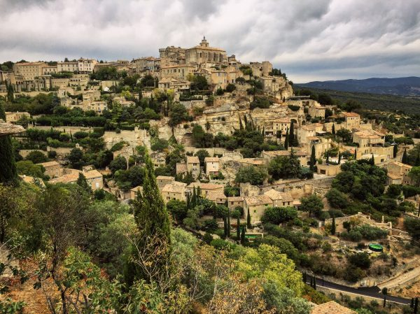 Un village splendide dans le Vaucluse