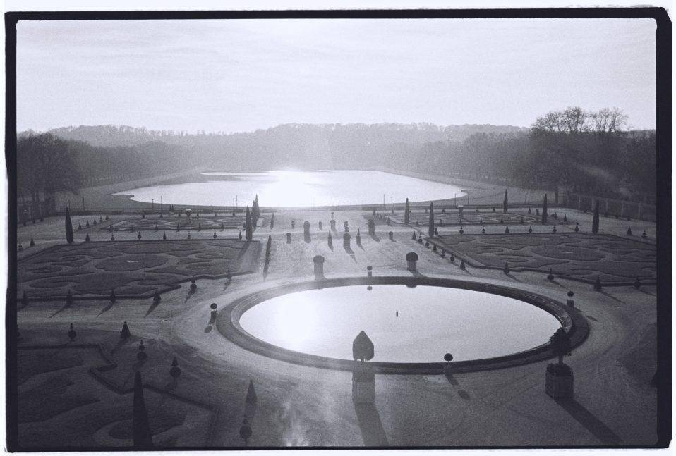 Le parterre de l'Orangerie à Versailles