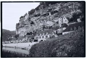 Le village de la Roque Gageac, Périgord noir