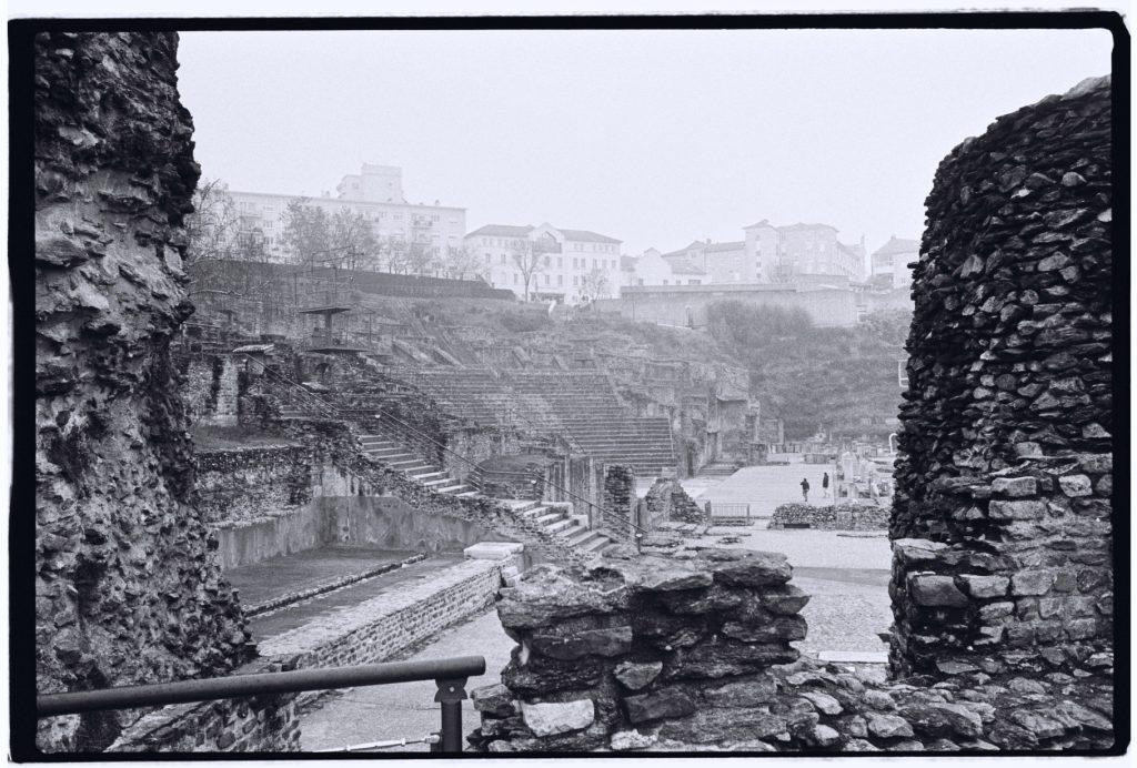 Les ruines du théâtre anthique de Lyon