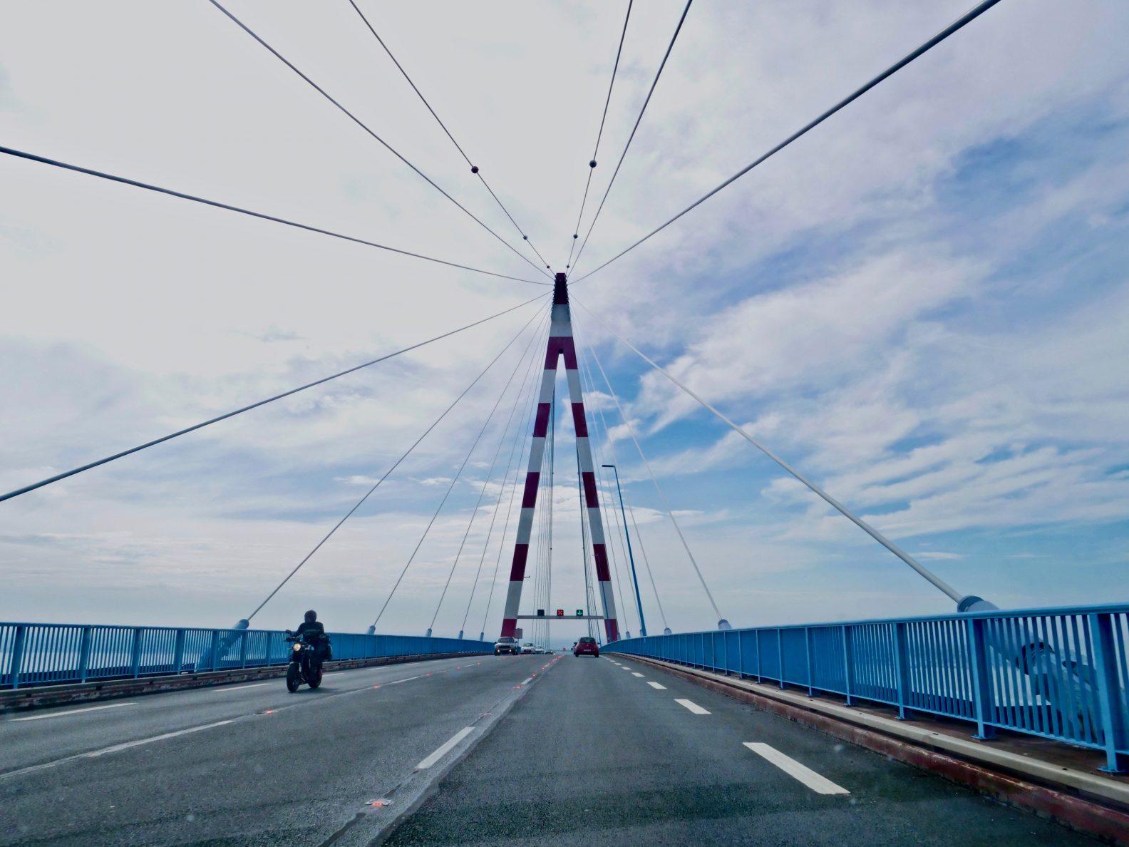 L'un des plus grands ponts de France se trouve à Saint-Nazaire