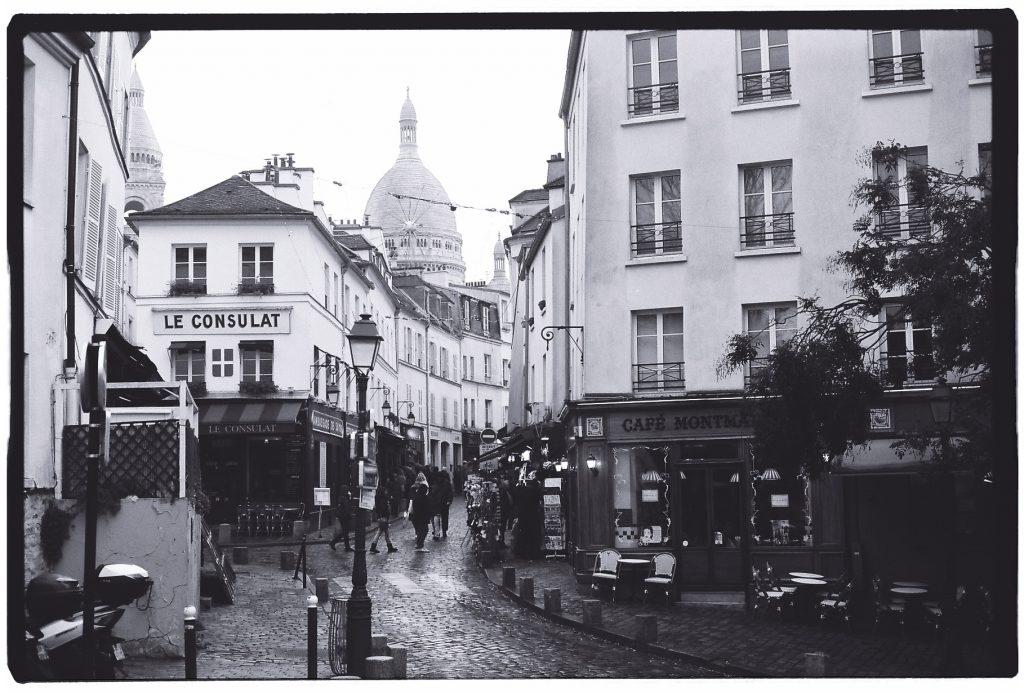 Montmartre en hiver