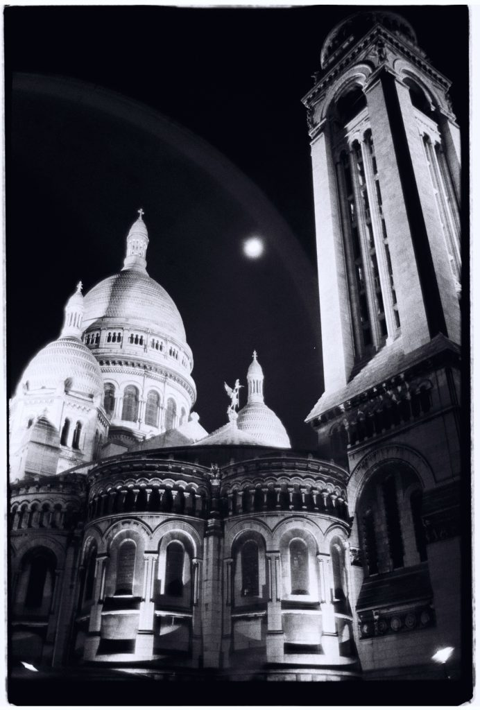 Montmartre, la nuit, Paris