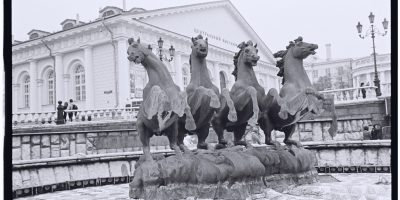Ohotni Riad, entre la place rouge, Tverskaya et le Kremlin, Moscou