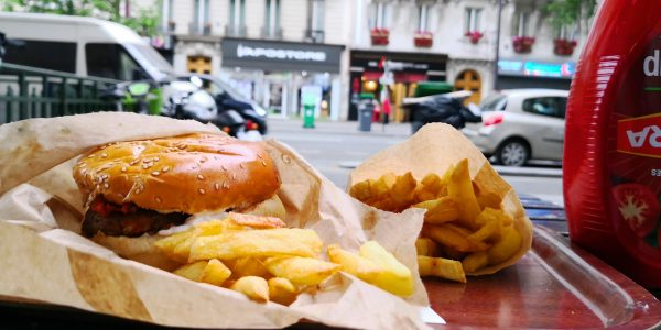 L'un des meilleurs burgers de Paris