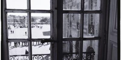 Vue sur la cour intérieure du château de Versailles
