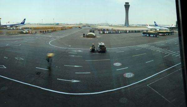 La tour de contrôle de l'aéroport de Pékin