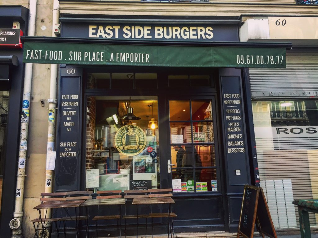 Le meilleur burger de Paris - East Side Burgers