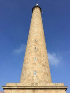 Le phare de Gatteville dans l'est du Cotentin