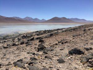 Décors absolument lunaire et irréel en Bolivie