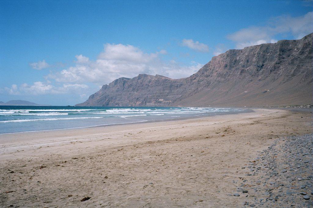 Dans le nord de l'île à Lanzarote