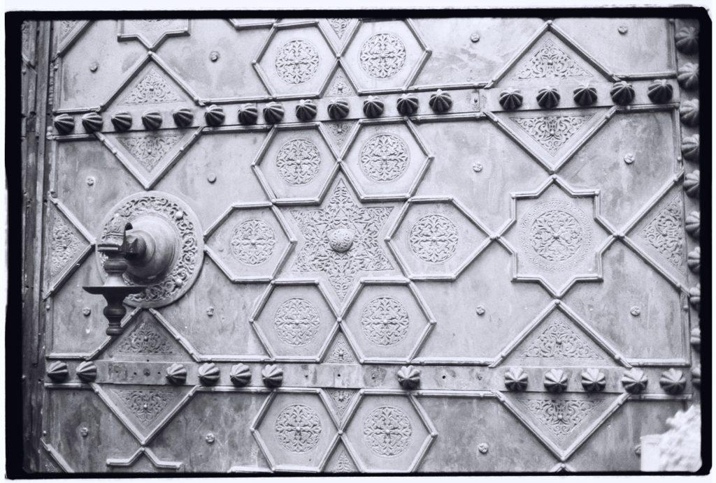 La porte de la Mosquée