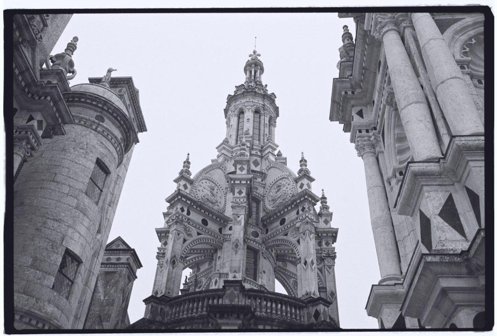 Le coeur du château, avec la tour lanterne du donjon.