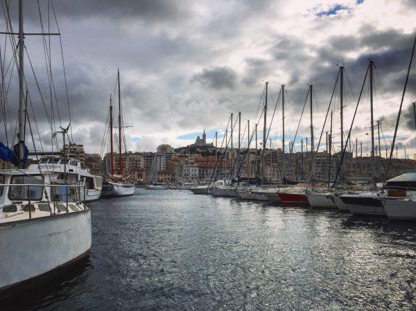 Marseille sous les nuages, une fois n'est pas coutume