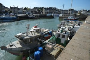 Port en Bessin, un grand port de pêche de France