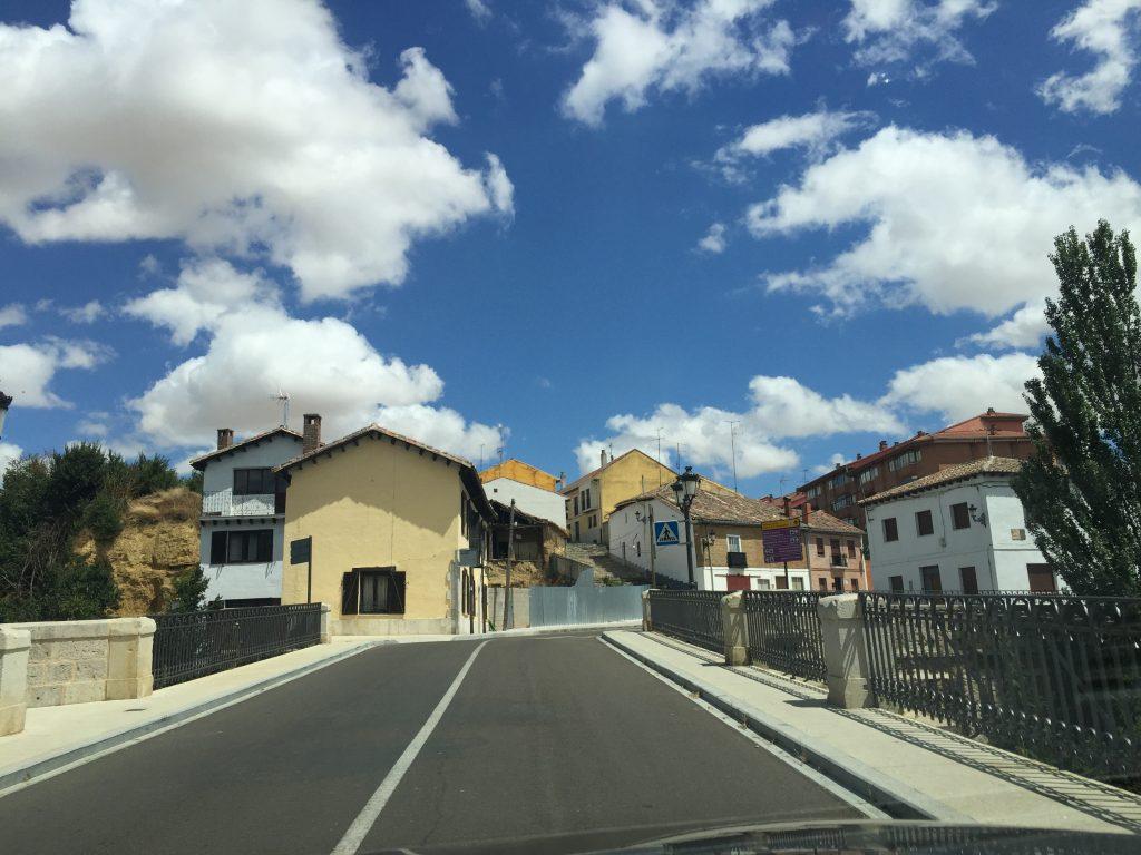 Sur les belles routes du nord de l'Espagne