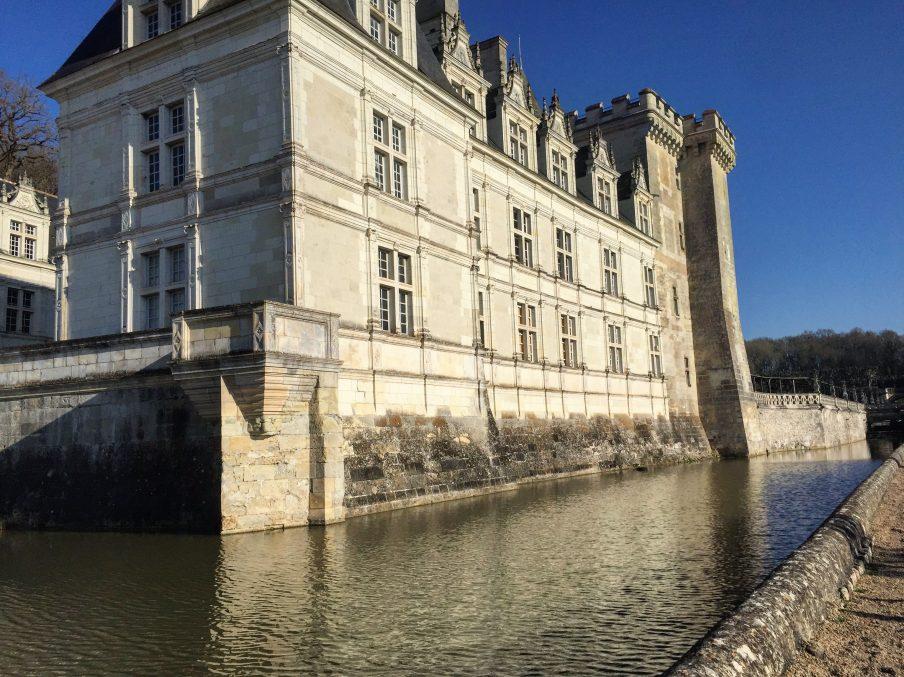 Le château de Villandry sous le soleil