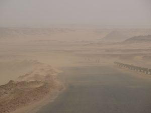 L'Egypte un pays peuplé et cerné par le désert