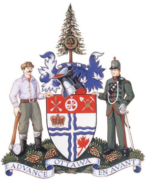 Les armoiries d'Ottawa
