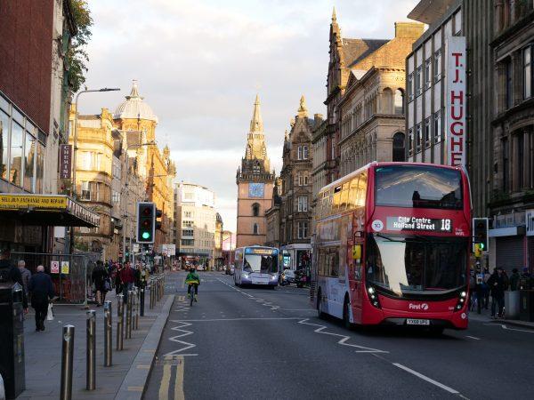 Glasgow, une grande ville écossaise