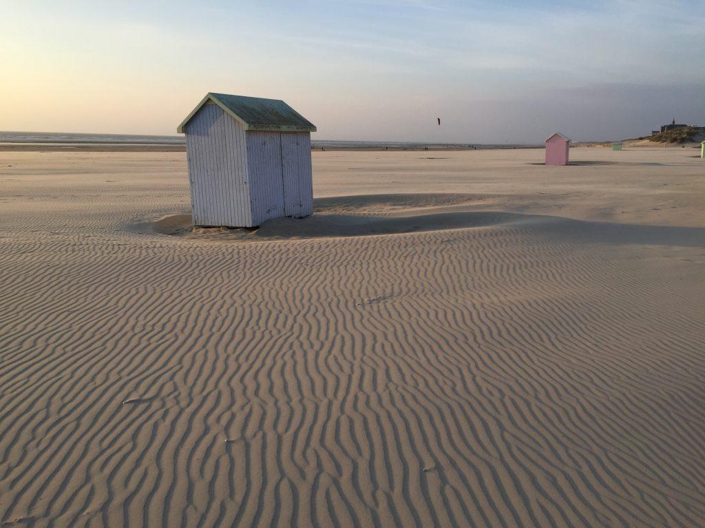 Un air de bout du monde sur la plage de Berck sur mer
