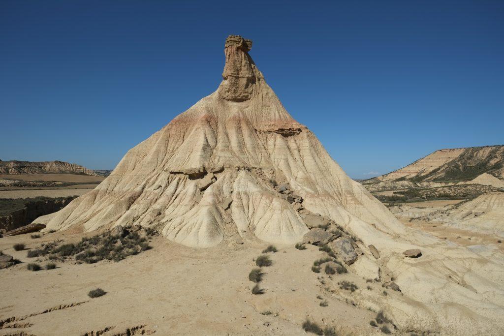 L'érosion créa une pyramide éphémère, Castil de tierra