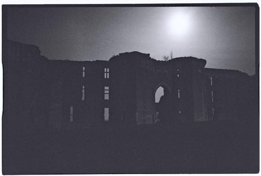 Le château sous le clair de lune, la Ferté Milon