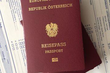 Un passeport de l'Union européenne