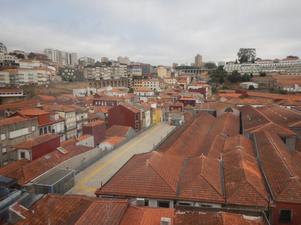 Vue sur les toits de Villa Nova de Gaia