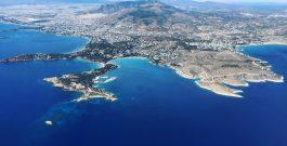 La Grèce vue du ciel