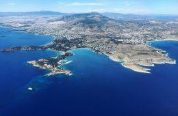 La Grèce vue du ciel par Yann Vernerie