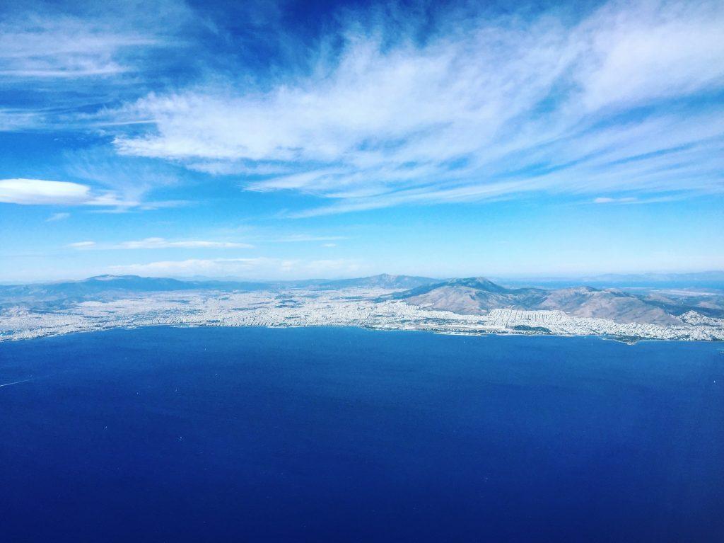 La capitale grecque vue du ciel
