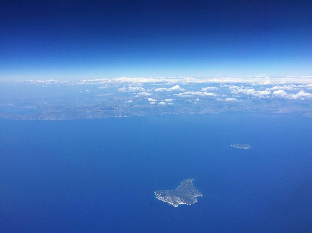 Une petite île perdue dans le nord ouest de la Grèce