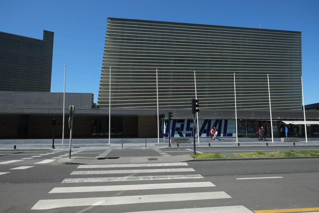 Kursaal, la salle de spectacles de San Sebastian
